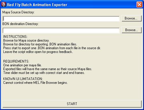 Batch exporter